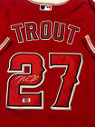 Mike Trout Signed Los Angeles Anaheim Angels MLB Red Jersey with COA