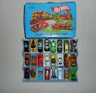 Vintage 1980 Hot Wheels 24 Car Collectors Case with filled with 24 cars