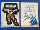 1976 Topps Marvel Super Heroes Stickers 20