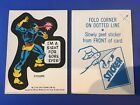1976 Topps Marvel Super Heroes Stickers 21