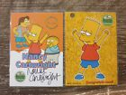 The Simpsons 10th Anniversary Nancy Cartwright INKWORKS Auto A4 redemption card