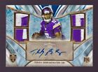 Teddy Bridgewater Rookie Autograph Patch 10 2014 Topps Supreme RC Auto Jersey