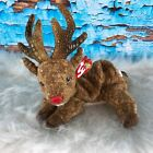 Ty Beanie Baby Roxie with Tag Deer Red Nose Horns
