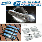 Door Handle Covers + Bowls Chrome For 2011 2012 2013 2014 2015 2016 Chevy Sonic