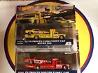 HOT WHEELS TEAM TRANSPORT SNAKE  MOONGOOSE FUNNY CAR WITH RETRO RIG