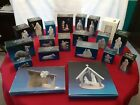 Avon Nativity Collectibles 22 Piece White Porcelain Bisque Nativity Set