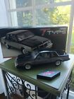 124 GMP 1986 Buick T Type WH1 Turbo Diecast New in Box Black and Grey
