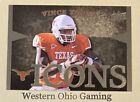 2011 Upper Deck University Of Texas Vince Young #I-VY Icons Card