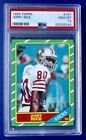 1986 Topps Jerry Rice Rookie PSA 10 GEM Mint RC #161 SF 49ers - Key 80's RC 🔥