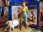 FONTANINI JEDEDIAH PIG KEEPER 5 NATIVITY SET COLLECTION NEW VILLAGER HEIRLOOM
