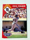 1995 Detroit Tigers Cecil Fielder Starting Lineup Baseball Card