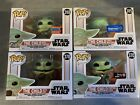 Star Wars Mandalorian Funko Pop The Child Lot of 4  NYCC + Other Exclusives