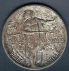 1926 S Oregon Trail Half Dollar Iconic TONED Beauty Dramatic HI RES SCANS