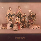 The Promise of Christmas Nativity Set by Robert Stanley Deluxe 8 Piece Set 2013