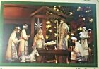 Nativity Set Elements By Pavilion Gift Company 8 Figurines  Stable Background