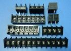 Electric Terminal Block Connector Pcb Wire Pin Header Black Barrier 5pcslot New