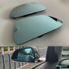Pair Outside Rearview Mirror Glass LH RH Bright Fit For 2017 2020 Tesla Model 3
