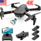 Drone X Pro WIFI FPV 4K HD Camera 3 Batteries Foldable Selfie 24G RC Quadcopter