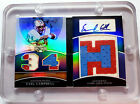 2010 Topps Triple Threads 2 3 Booklet, Earl Campbell, Game-Used Patch Auto