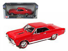 1967 CHEVROLET CHEVELLE SS 396 AMBER RED 1 18 DIECAST MODEL CAR MOTORMAX 73104