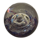 WOW Selkirk Scotland 1995 Spellbound Spiral Studio Art Glass Paperweight