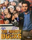 The Mighty Ducks 11x14 Autographed Photo Cast Signed by 7 with Beckett COA