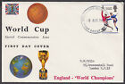 1966 World Cup England Winners Connoisseur FDC Kingston Upon Thames FDI