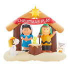 6 Ft Inflatable Peanuts Nativity Scene