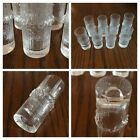 IITTALA TAPIO WIRKKALA Niva Glasses 8 Excellent Condition