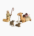Willow Tree Shepherd and Stable Animals Nativity Figures
