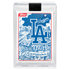 2020 Topps Now Los Angeles Dodgers World Series Champions Cards and Collaborations Guide 6