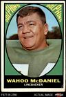 1967 Topps Football Cards 16