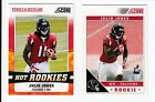 2011 PANINI SCORE JULIO JONES ROOKIE RED ZONE & SP VARIATION RARE