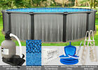 12x52 Boreal Round Above Ground Swimming Pool Package