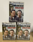 Walking Dead Evolution Lot 2017 Trading Cards Blaster Box Topps 3 Boxes TWD