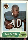 1968 Topps 75 Gale Sayers Bears 3 VG