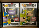 Funko Pop! Marvel 80th: Loki and Thanos Collector Corps Exclusives MINT
