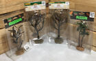 Assorted Lemax Halloween Village Landscape Spooky Town Tree Lot Of 4!