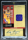 2009-10 Panini Timeless Treasures Rookie Year Kobe Bryant Patch Auto 50 On Card