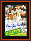 Dennis Eckersley Cards, Rookie Card and Autographed Memorabilia Guide 9