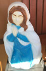 Mary Blow Mold General Foam Plastics Christmas Outdoor Nativity Scene As Is