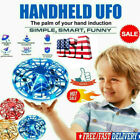 Mini Drone Quad Induction Levitation UFO Flying Toy Hand controlled Kids Gifts