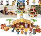 Fisher Price Little People Christmas Story Nativity Set w Lights Sounds 2013