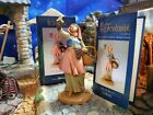 FONTANINI CARMI w GRAPES 5 NATIVITY SET VILLAGER NEW HEIRLOOM