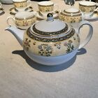 Wedgwood India Teapot with Lid Discontinued Pattern