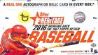 2016 Topps Heritage Baseball Sealed Hobby Box 24 packs 9 cards per pack Auto?