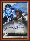 Jose Canseco Cards, Rookie Cards and Autographed Memorabilia Guide 17