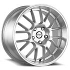 4 Shift Crank 17x75 4x100 4x45 +30mm Silver Wheels Rims 17 Inch