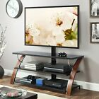 3 in 1 Flat Panel TV Stand for TVs up to 65 Brown FREESHIP