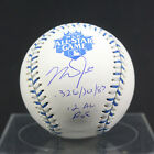 2012 MIKE TROUT ANGELS ROOKIE YEAR SIGNED BASEBALL L.E. INSCRIBED 1 12 MLB HOLO